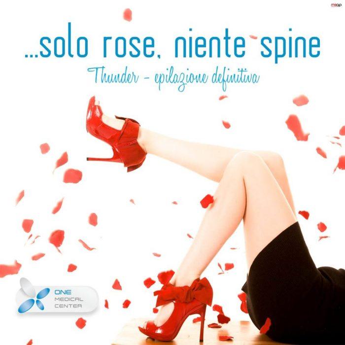 solo rose niente spine